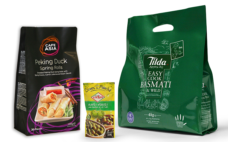 Food produce packaging