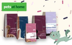 Pets at home Cat Litter Packaging