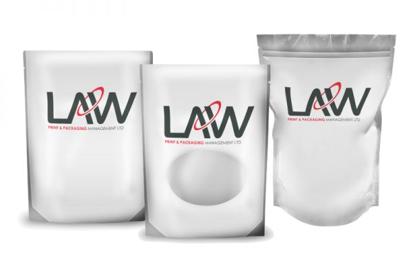 Stand Up Pouches Law Print Pack