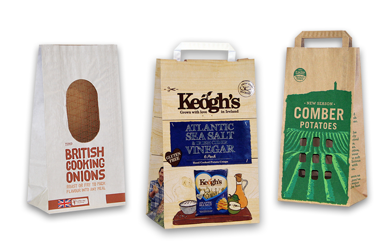 Packaging fruits & vegetables
