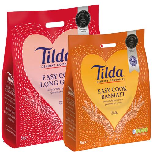 Food Packaging Tilda Packaging Law Print Pack