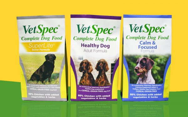 VetSpec Pet Food Packaging