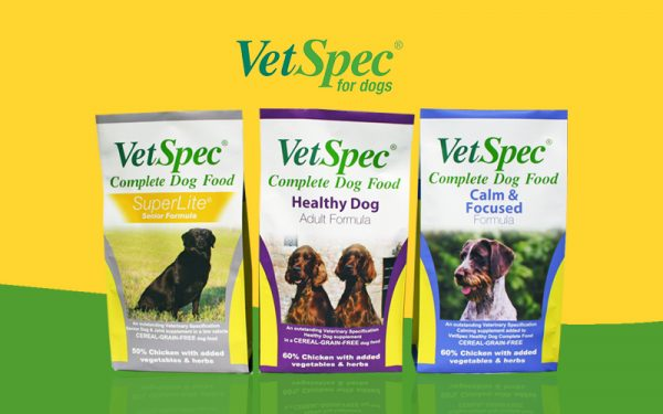 VetSpec Pet Food Packaging
