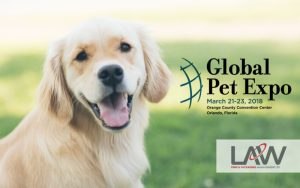 Law Print Pack at Global Pet Expo 2018
