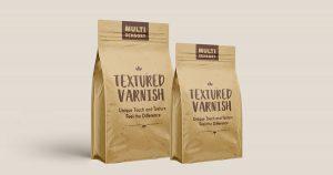 Multisensory Packaging Haptic Varnish Law Print Pack