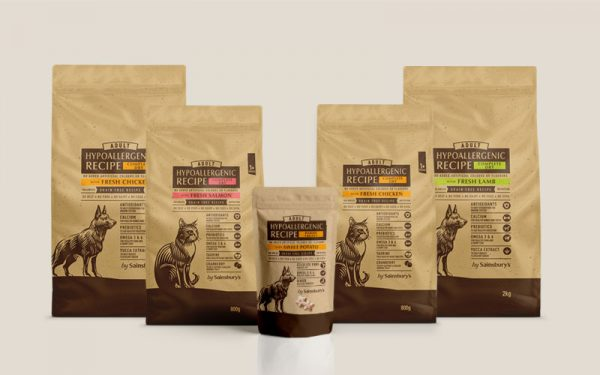 Sainsbury's Hypoallergenic Pet Food