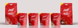 FAST Sport Nutrition Packaging