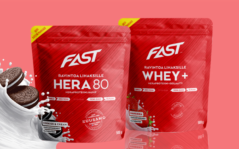 FAST Sports Nutrition Packaging Law Print Pack