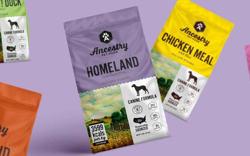 Ancestry Pet Food Packaging Case Study