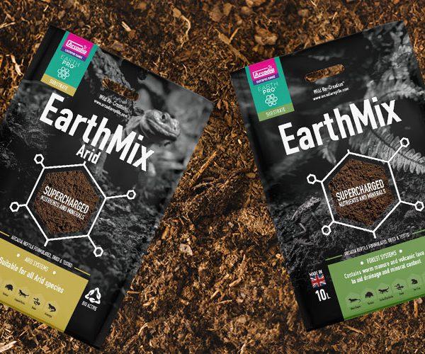 Arcadia Reptile EarthMix Packaging Law Print