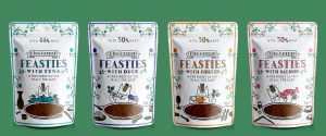 King Catnip Feasties Pouches Group