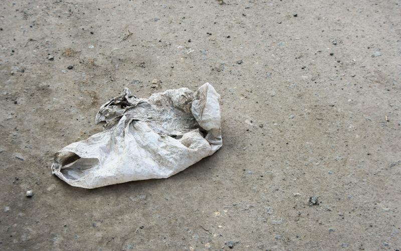 Plastic Bag Oxy-degradable