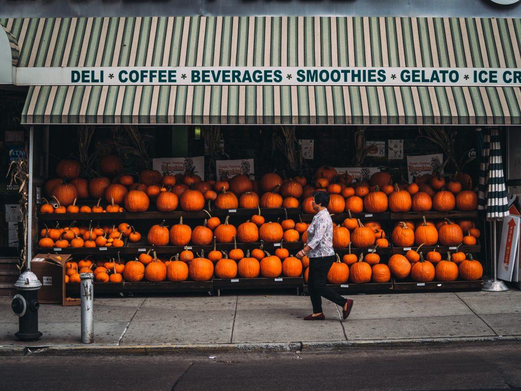 sustainability pumpkin shop