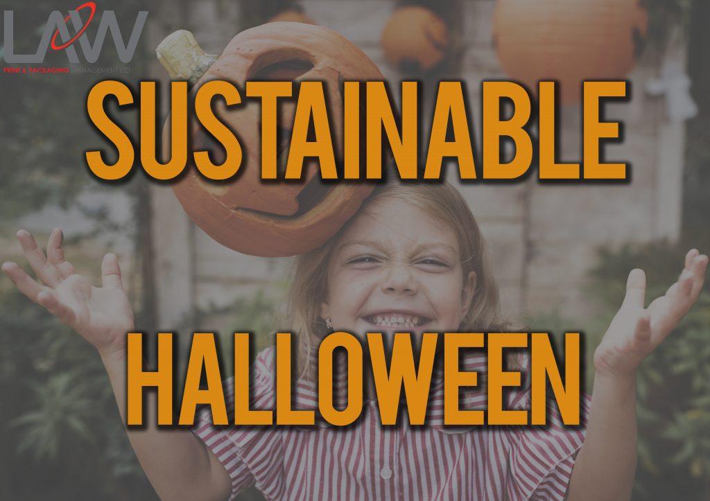 sustainability halloween