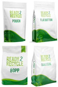 Ready 2 Recycle Plastic Packaging Options Collage