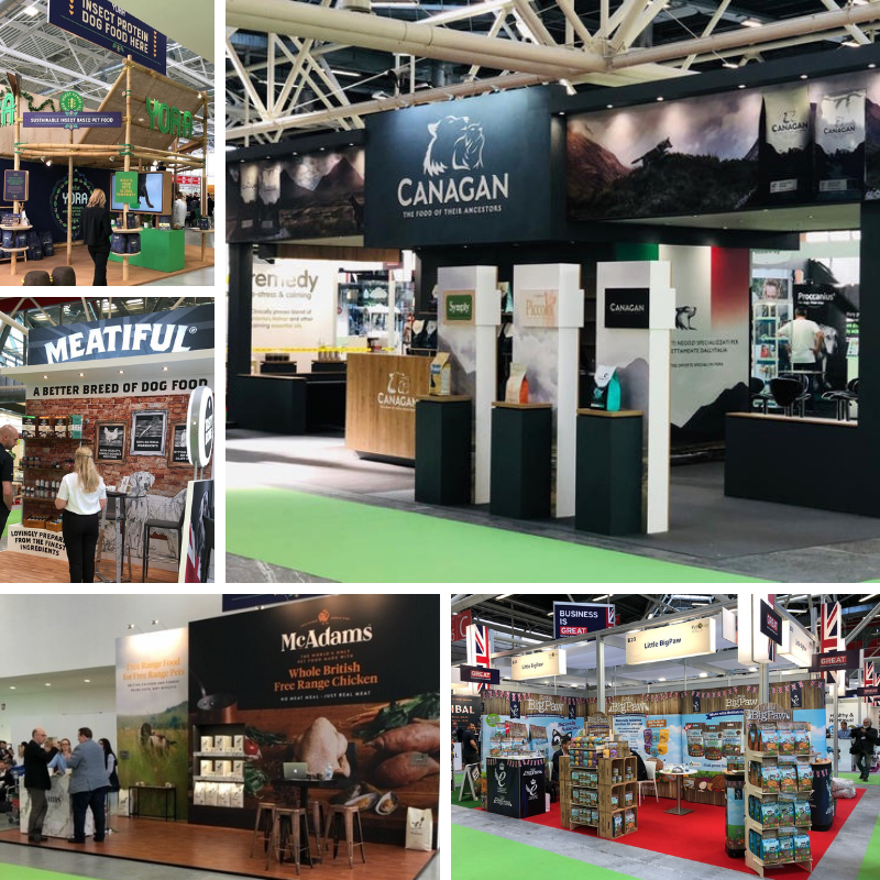 Zoomark 2019 Client Stands