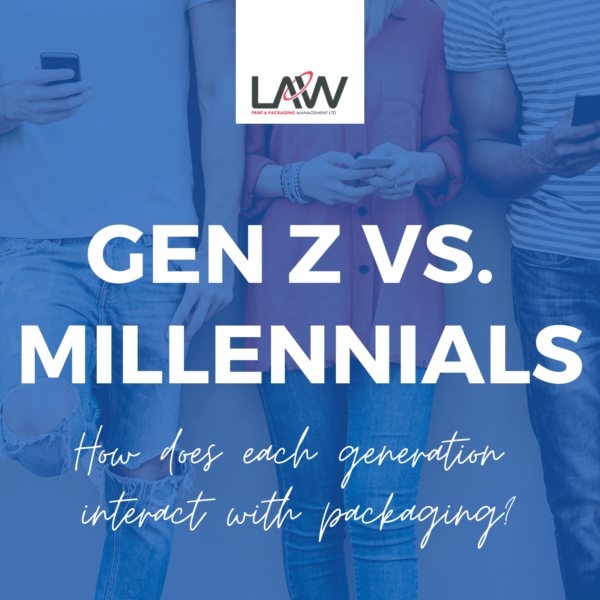 Gen Z vs Millennials: Interacting with Packaging