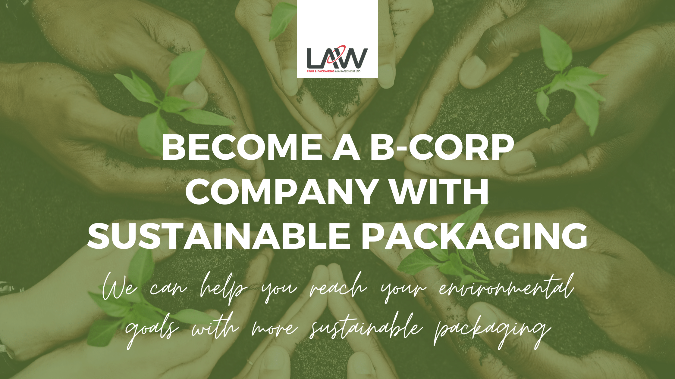 Become a B-Corp Company with Sustainable Packaging