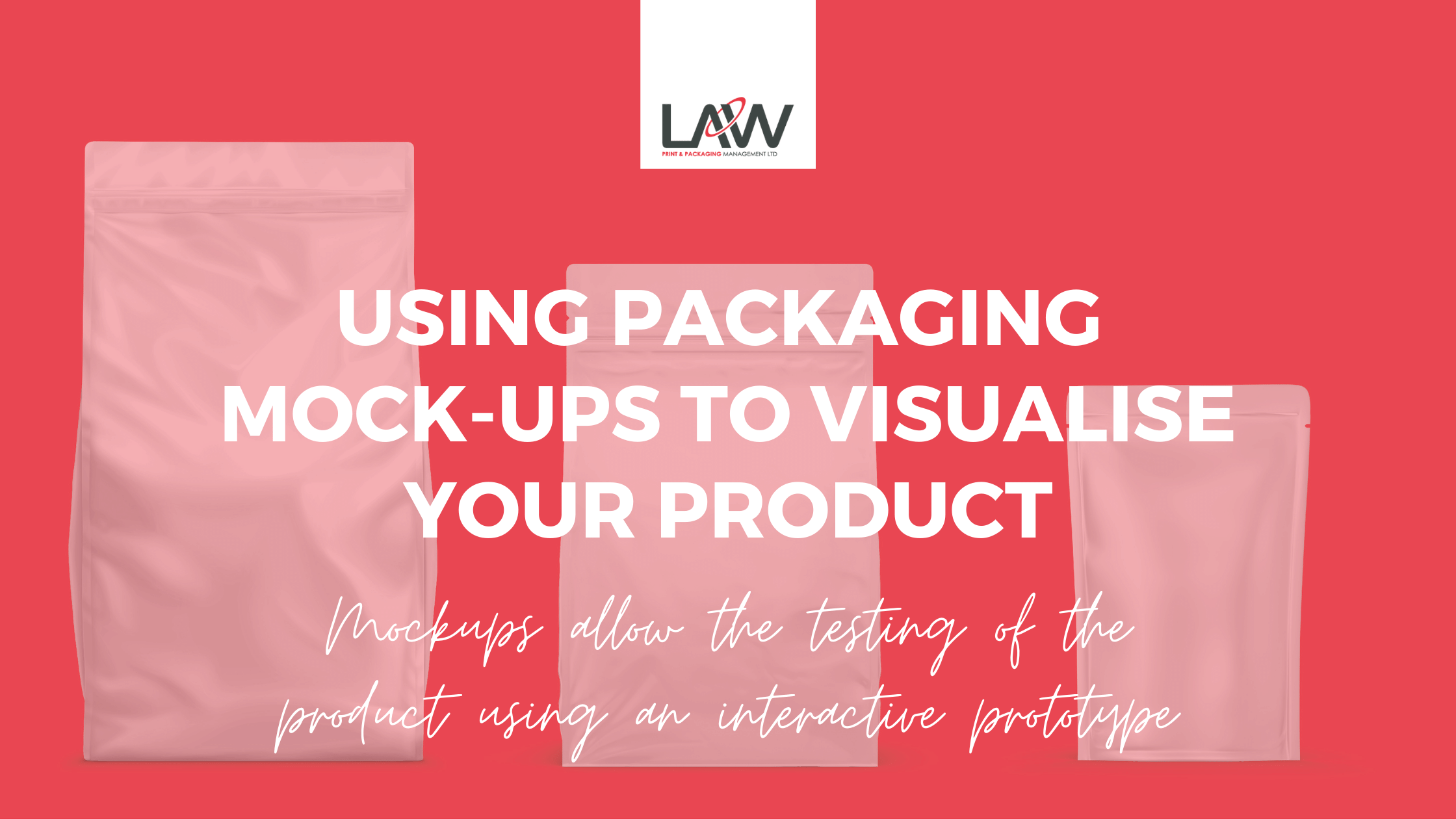 Using Packaging Mock-ups to Visualise Your Product