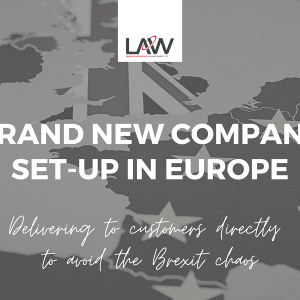 Brand New Company Set-up In Europe