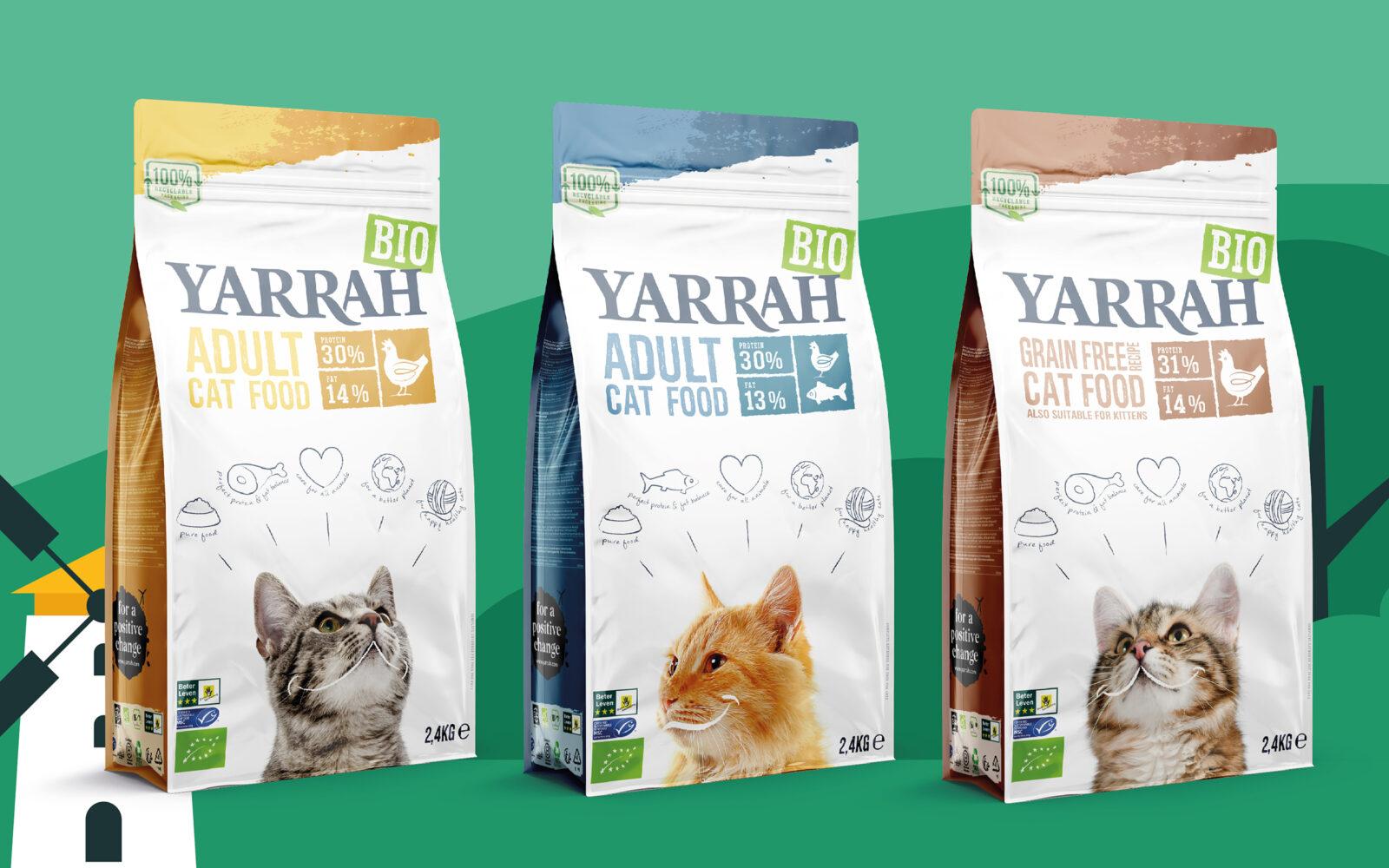 Yarrah Cat Food Case Study 2.4KG