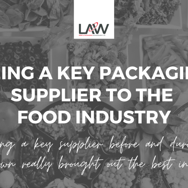 Being a Key Supplier to the Food Industry
